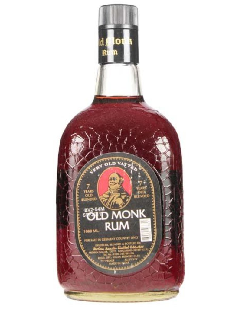 Old Monk Old Monk 7 Years Old 1000ml 42,8% Alcohol