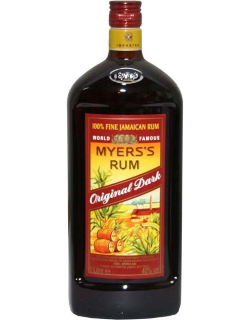 Myers Myers Original Dark Rum 1,0L 40,0% Alcohol