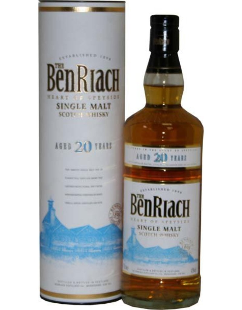 Bennachie BenRiach 20 Years Old 700ml Gift box