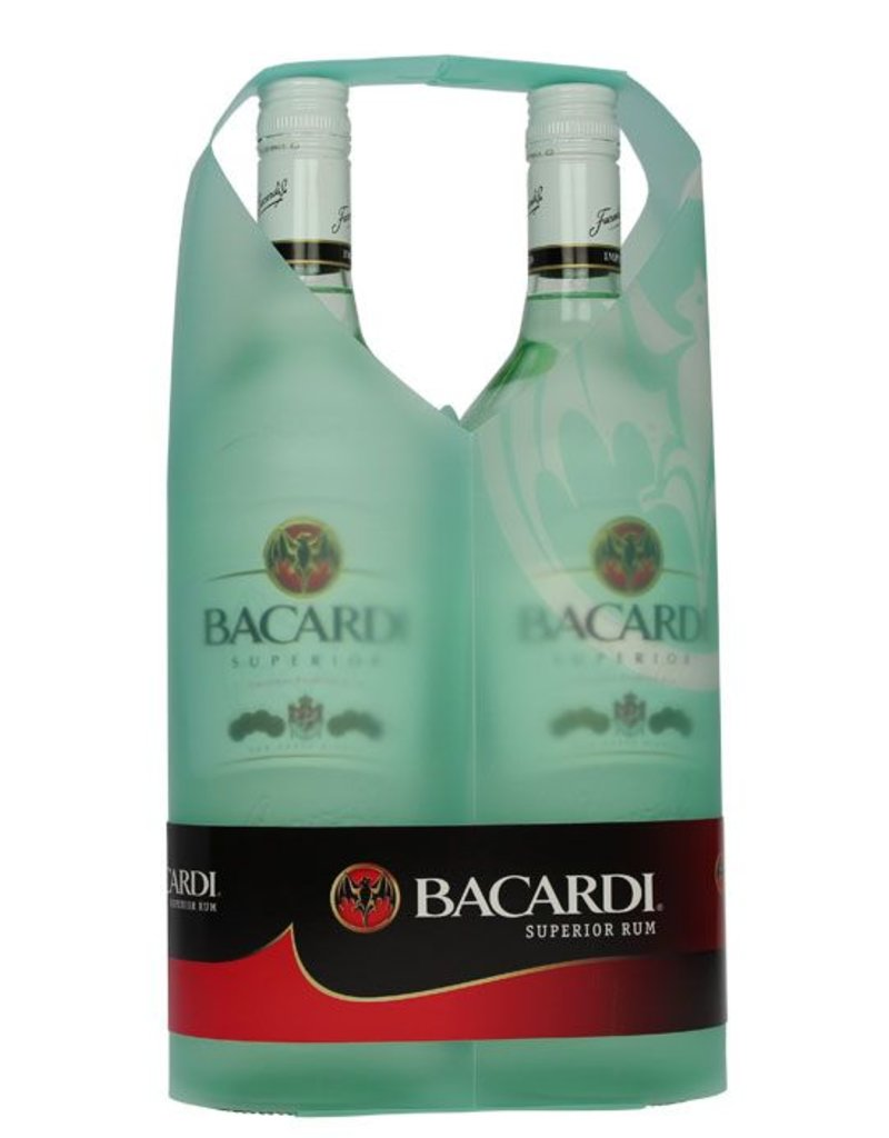 Bacardi Bacardi Superior Twinpack 2x 1000ml 40,0% Alcohol