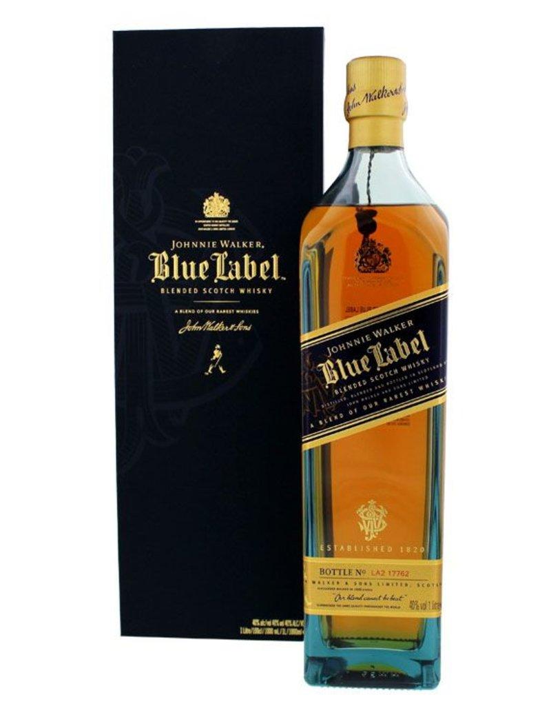 Johnnie Walker Johnnie Walker Blue Label 1 Liter Gift box