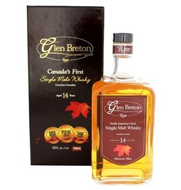 Glen Breton Glen Breton 14YO Single Malt Whisky 700ml Gift box