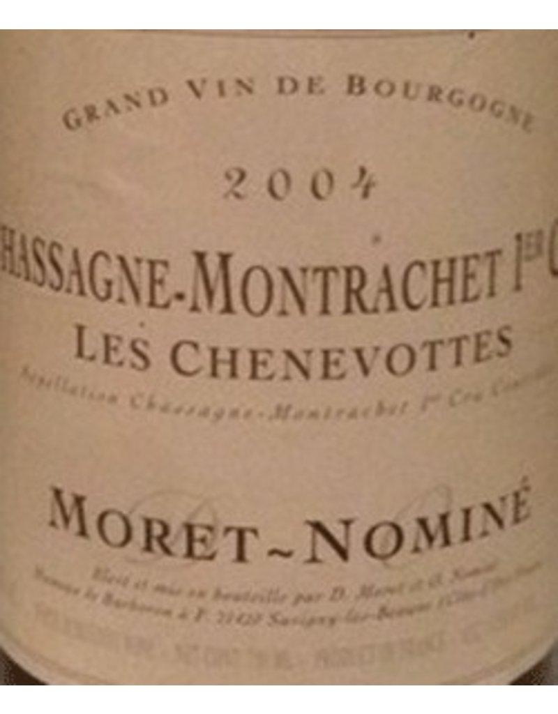 Moret-Nomine 2004 Moret-Nominé Chassagne Montrachet 1 er Cru Les Chenevottes