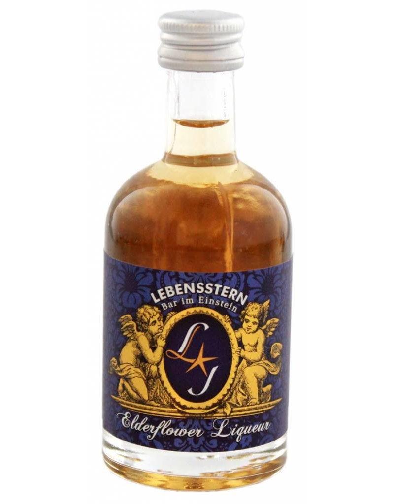 Lebensstern Lebensstern Elderflower Liqueur Miniatures 0,05L 22,0% Alcohol