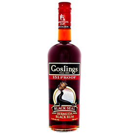 Gosling Gosling Black Seal 151 Proof Rum 0,7L