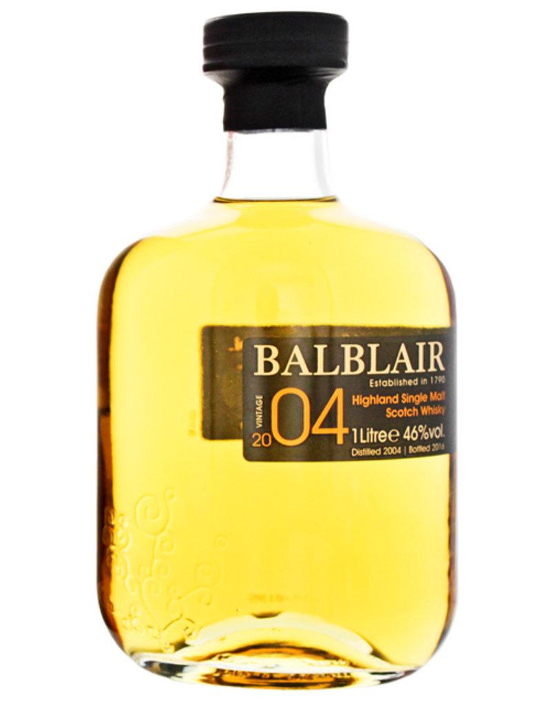 Balblair Balblair 2004/2016 Vintage Bourbon Cask 1,0L Gift Box