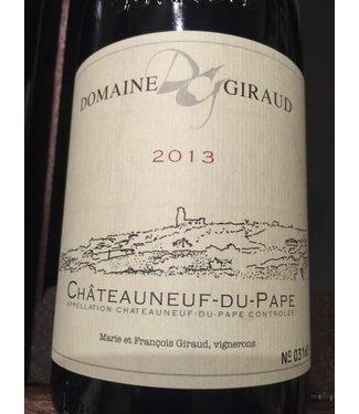 Domaine Giraud 2013 Domaine Giraud Chateauneuf du Pape
