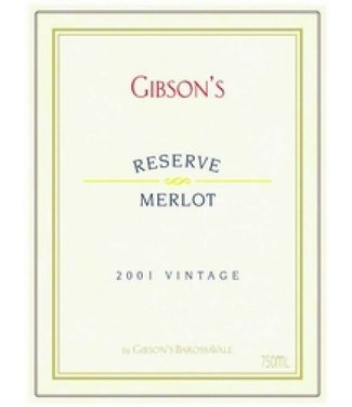Gibson Wines 2004 Gibsons Merlot Reserve
