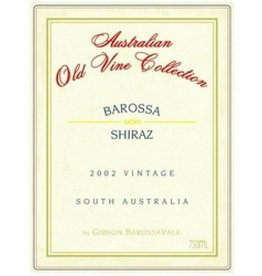 Gibson Wines 2004 Gibsons Shiraz Old Vine Collection Magnum