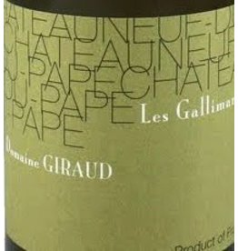 Domaine Giraud 2007 Giraud Chateauneuf-du-Pape Les Gallimardes Blanc