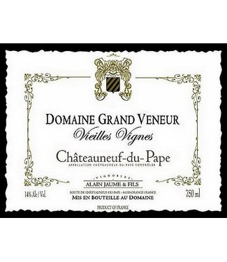 Domaine Grand Veneur 2009 Domaine Grand Veneur Chateauneuf-du-Pape Vieilles Vignes