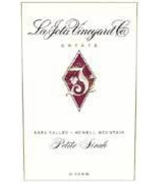 La Jota Vineyard & Co 1996 La Jota Petite Shirah Howell Mountain