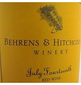 1995 Behrens And Hitchcock Napa Valley Zinfandel