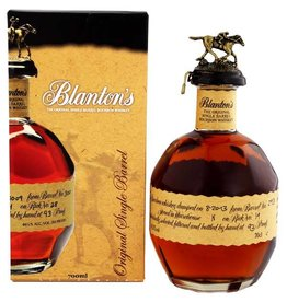 Blanton Blanton Bourbon Original 700ml Gift box