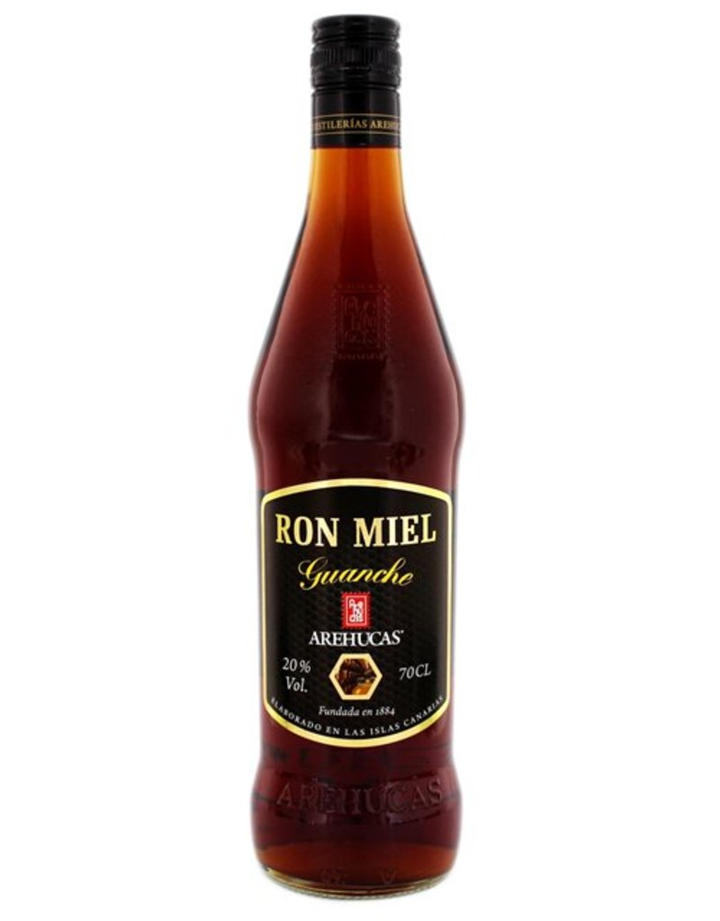 Arehucas 700 ml Rum Arehucas Guanche Honey Rum