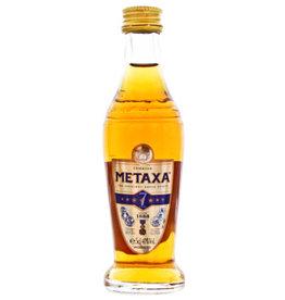 Metaxa Metaxa 7 stars brandy 0,05L miniatuur 40%
