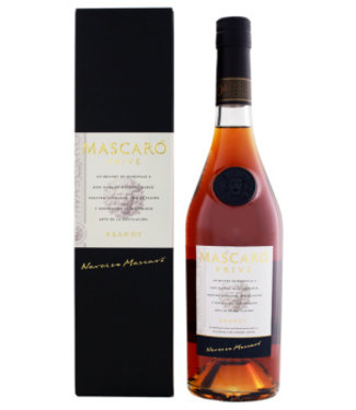 Mascaro Mascaro Brandy Prive 0,7L Gift Box