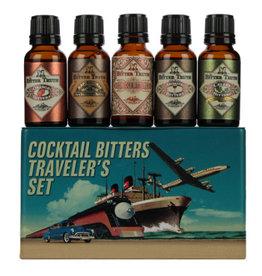The Bitter Truth The Bitter Truth Cocktail Bitters Travelers Set Gift Tin 5x20ML
