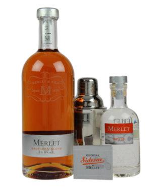 Merlet Merlet Sidecar Brothers Blend Cognac 0,7L + Triple Sec 0,2L