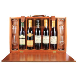 A.E. Dor A.E. Dor Cognac Coffret Weekend 5x0,35L Gift box