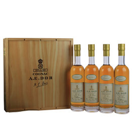 A.E. Dor A.E. Dor Cognac Coffret Cru Collection 4x200 ml Gift box