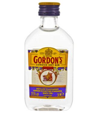Gordon's Gordons Dry Gin miniatuur 0,05L 37,5%