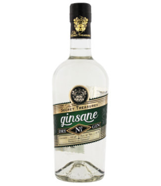 The Secret Treasures The Secret Treasures Ginsane Dry Gin 0,7L Gift Box