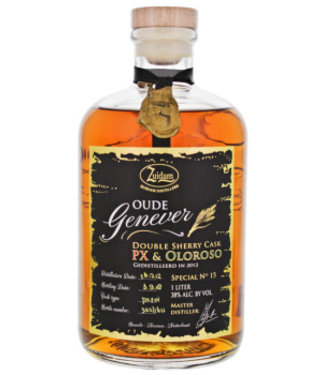 Zuidam Zuidam Oude Genever Sherry Cask PX Oloroso Nr.15