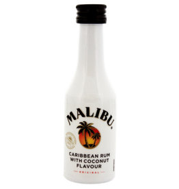 Malibu Malibu Coconut Rum Miniatures 50 ml PET