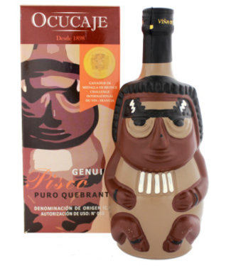 Ocucaje Ocucaje Pisco Quebranta Huaco Color 750ml Gift box