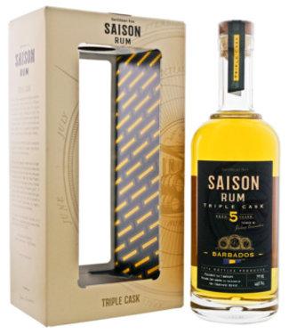 Saison Rum Barbados 5YO Triple Cask 46%