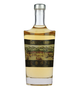 Caribbean Caribbean Spicy Gold Rum 700ml -Glas-