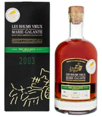 Les Rhum Vieux Marie Galante Bielle Tres Viieux 2003