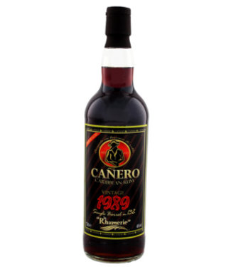 Canero Canero Vintage 1989 Single Barrel Rum - Nicaragua