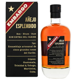 Embargo Anejo Esplendido Rum 0,7L 40%
