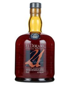 El Dorado El Dorado Rum 21 Years Old 700ml Gift box