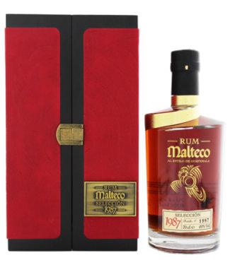 Malteco Malteco Selección 1987 0,7L Wooden Box