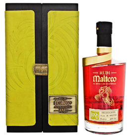 Malteco Seleccion 1990 0,7L 40% Wooden Box