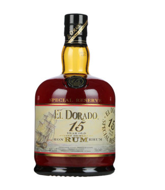 El Dorado El Dorado Rum 15 Years Old 700ml Gift box
