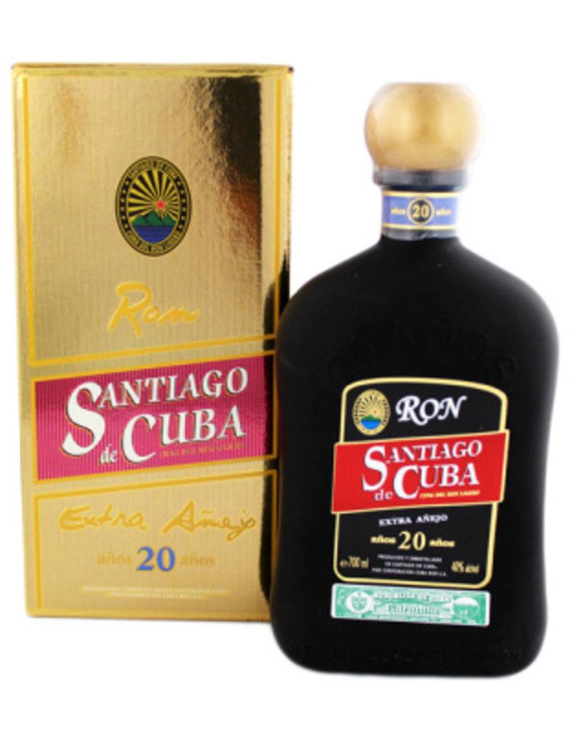 Santiago de Cuba Santiago de Cuba Extra Anejo 20 Years Old 700ml Gift box