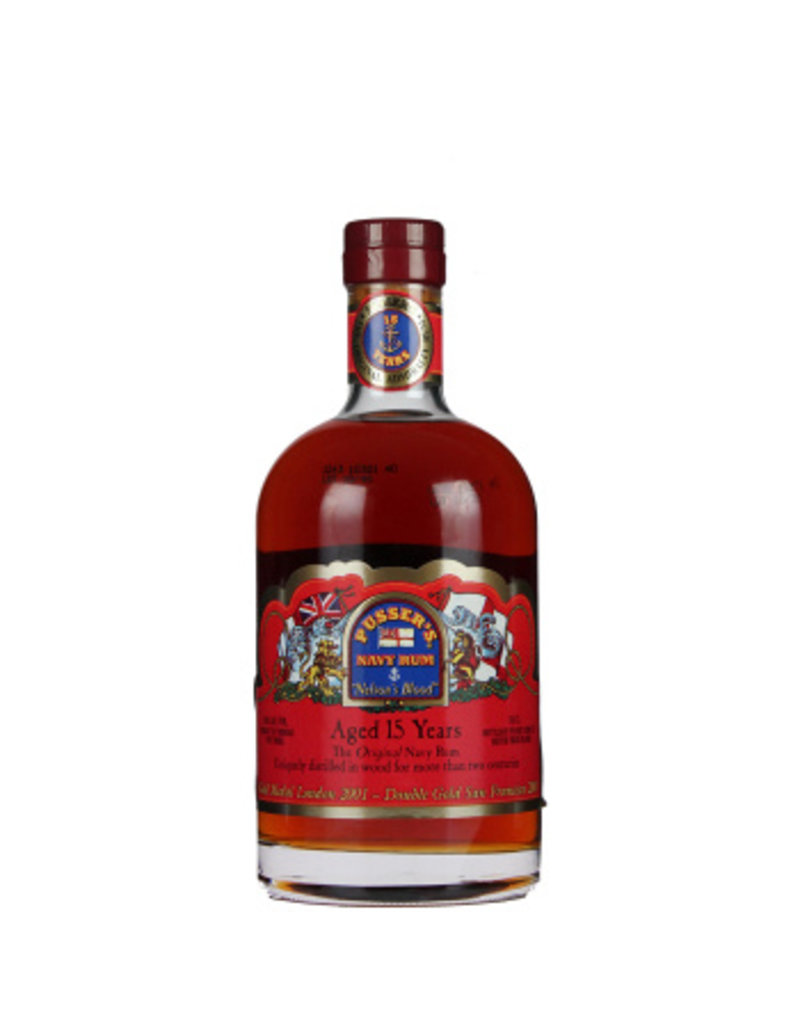 700 ml Rum Pusser s 15 Years Nelson s Blood - British Virgin Islands