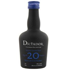 Dictador Dictador Solera 20YO Miniatures 0,05L