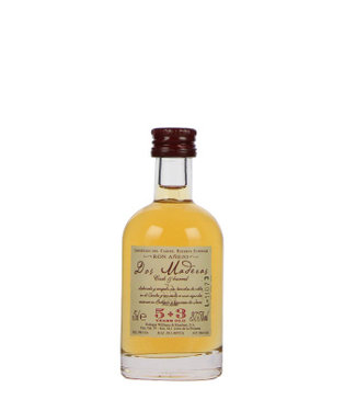 Bodegas Williams and Humbert 50 ml Dos Maderas Anejo 5 Years Old + 3 Years Old Miniaturen - Caribische Eilanden