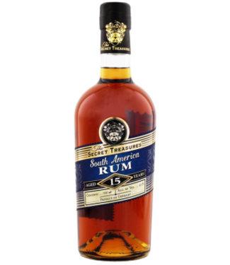 The Secret Treasures The Secret Treasures South America Rum 15YO 0,7L Gift Box