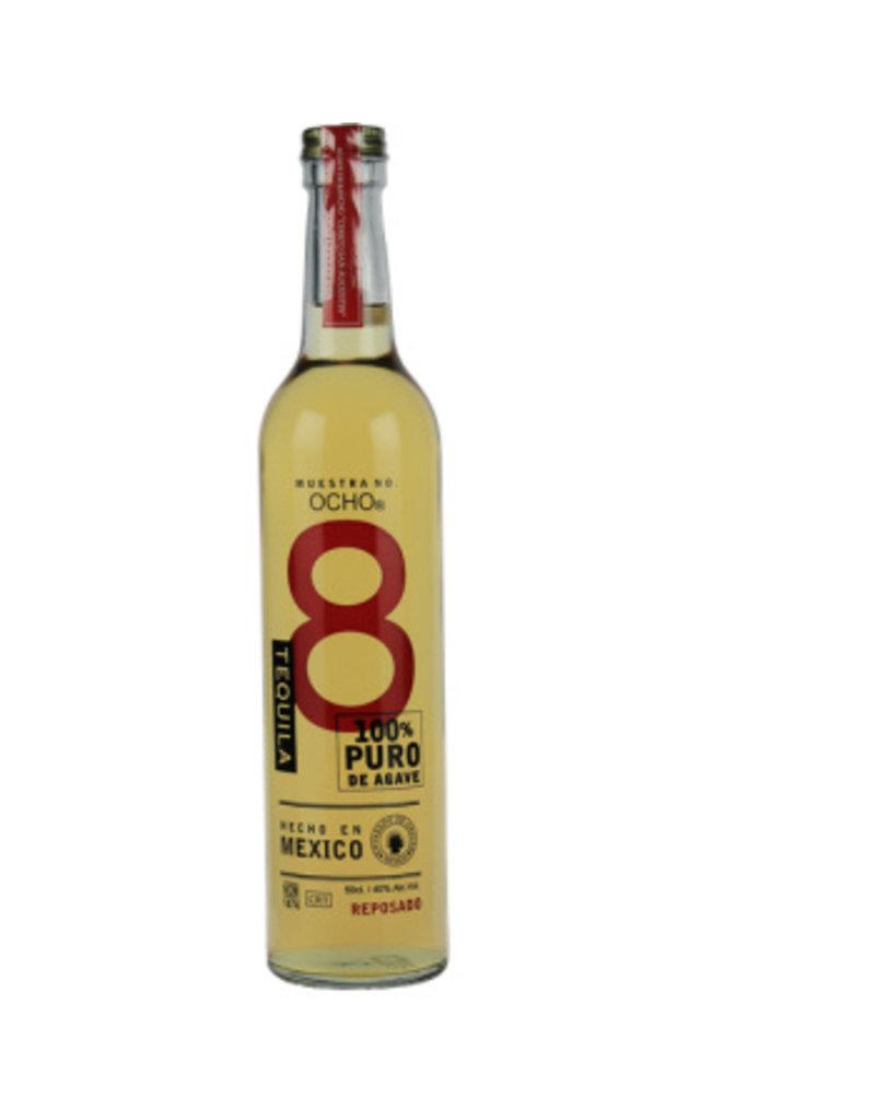 Ocho 500 ml Tequila Ocho Reposado Mexico