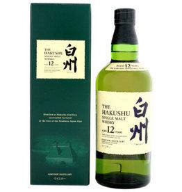 Hakushu 12YO Malt Japanse Whisky 0,7L 43%