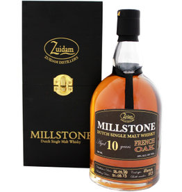 Zuidam Zuidam Millstone Malt Whisky 10 Years Old French Oak 700ml Gift box