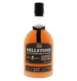 Zuidam Zuidam Milstone Malt Whisky Lightly Peated 5 Years Old 70 cl