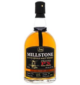 Zuidam Millstone Single Malt Peated PX Cask 0,7L 46%