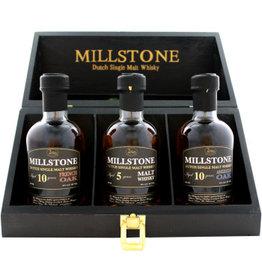 Zuidam Zuidam Millstone Malt Whisky Trio 3x200 ml Gift box